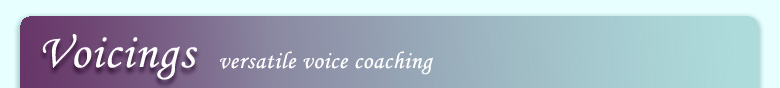 voice coaching at voicings